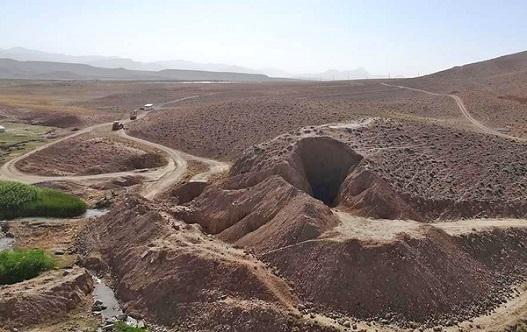 bostankhani تخریب مشکوک سد ۲۵۰۰ ساله دوران هخامنشی
