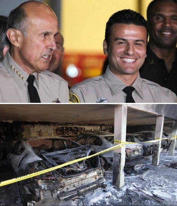 پلیس راه سلفچکان شبهای-لوس-آنجلس