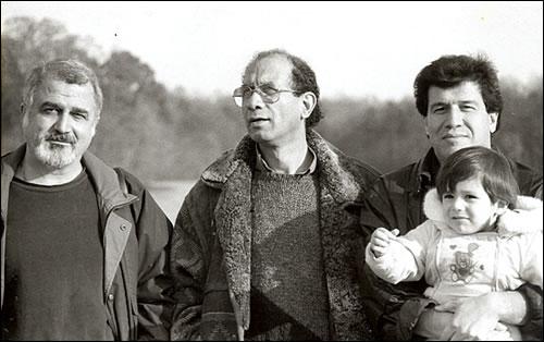 واشنگتن دی سی 1995 - با فرامرز سلیمانی و مسعود نقره کار.jpg